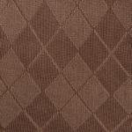 Farbe Braun mit Muster Crosses mediven 550 Bein