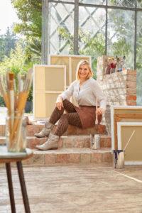 Fashion-Elemente für mediven 550 Bein Braun Animal
