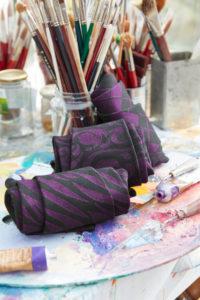 Fashion-Elemente für mediven 550 Bein Beere