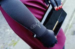mediven Kompressionsstrumpf Arm Flachstrick mit Swarovski Kristallen